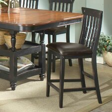"Clearbrook 24"" Bar Stool with Cushion (Set of 2)"