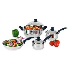Stainless Steel 7 Piece Cookware Set IV