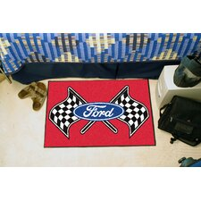 Ford Red Flag Area Rug