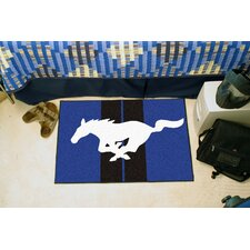 Ford Blue/Black Mustang Horse Area Rug