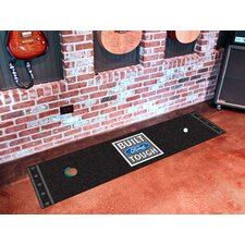Ford Golf Putting Black Built Tough Area Rug