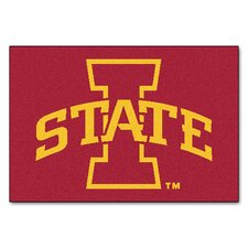 Collegiate Iowa State Starter Area Rug
