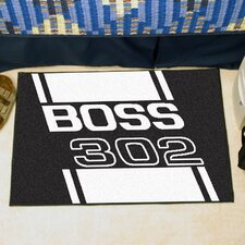 Ford Black Boss 302 Area Rug