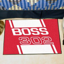Ford Red Boss 302 Area Rug