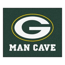 NFL Green Bay Packers Man Cave Outdoor Area Rug