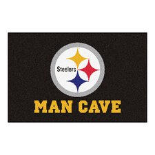 NFL Pittsburgh Steelers Man Cave Starter Area Rug