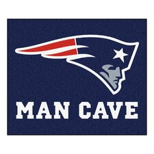 NFL New England Patriots Man Cave Outdoor Area Rug