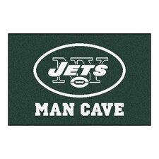 NFL New York Jets Man Cave Starter Area Rug