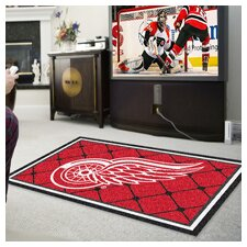 NHL Detroit Red Wings Area Rug