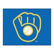"MLB Milwaukee Brewers ""Ball in Glove"" All-Star Doormat"