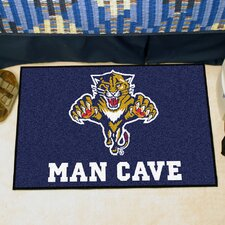 NHL Blue Area Rug