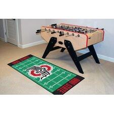 NCAA Ohio State Footrun Rug