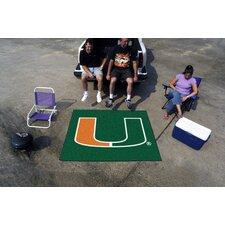 Collegiate Miami Tailgater Outdoor Area Rug