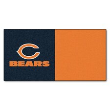 "NFL Team 18"" x 18"" Carpet Tile (Set of 10)"