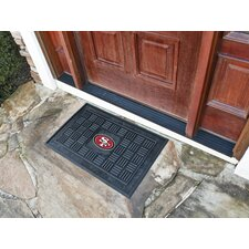 NFL San Francisco 49ers Medallion Doormat