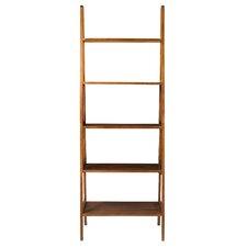 "5-Shelf 72"" Ladder Bookcase"