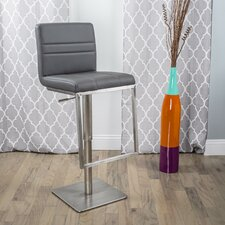 Dimaz Adjustable Height Swivel Bar Stool with Cushion
