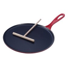 "Cast Iron 10.75"" Crepe Pan"