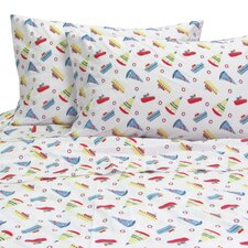 Melanie and Max 3 Piece Boats Sheet Set