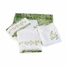 Bella and Bliss Spa Facial 3 Piece Towel Set