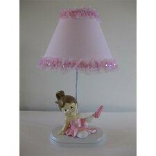 "Ballerina Princess 16"" H Table Lamp with Empire Shade"