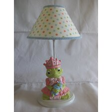 "Froggy Princess 18"" H Table Lamp with Empire Shade"