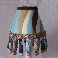 Brown Licorice Twist Table Lamp Shade