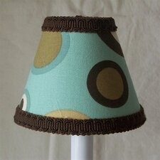 "5"" Fabulous Funk Fabric Empire Candelabra Shade"