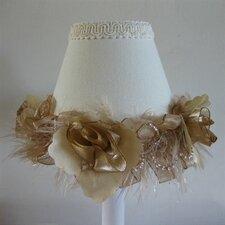"""5"""" Shabby Tabby Fabric Empire Candelabra Shade"""