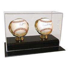 Two Baseball Gold Glove Display Case