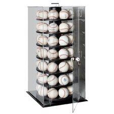 Fifty Six Baseball Rotating Display Case