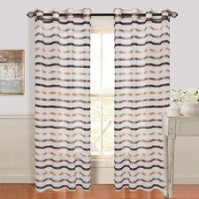 Sonya Grommet Single Curtain Panel