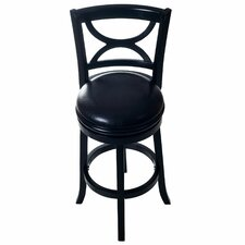 "Swivel 29"" Swivel Bar Stool with Cushion"