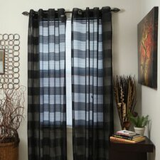 Sofia Grommet Single Curtain Panel