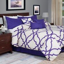 Trellis 7 Piece Comforter Set