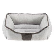 Cooper Rectangular Cuddler Bolster Dog Bed