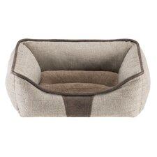 Baxter Rectangular Cuddler Bolster Dog Bed