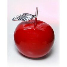 Manzano Small Red Apple Sculpture