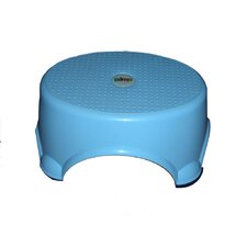 1-Step Plastic Children's Step Stool with 200 lb. Load Capacity