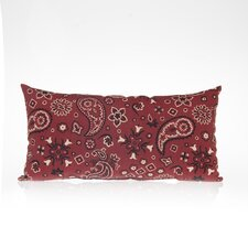 Happy Trails  Bandana Cotton Lumbar Pillow