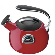 PerfecTemp 3-Qt. Tea Kettle in Red