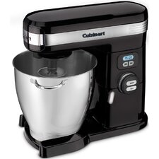 Seven Quart Stand Mixer with Tilt Back Head in Black