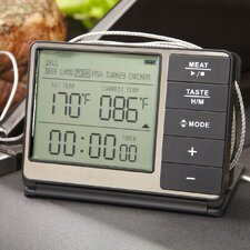 Digital Grilling Thermometer and Timer