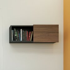 Next Wall Shelf with Sliding Door