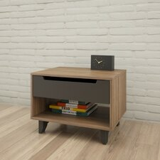 Alibi 1 Drawer Nightstand