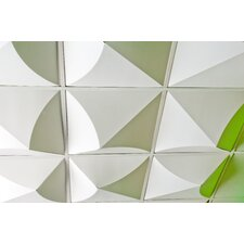 FoldScapes Bloom 2 ft. x 2 ft. Drop-In Ceiling Tile in White