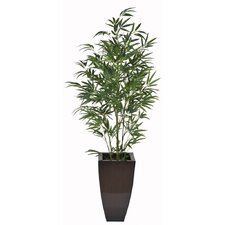 Artificial Green Bamboo Tree in Planter
