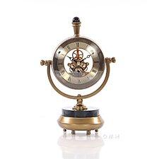 "8"" Brass Table Clock"