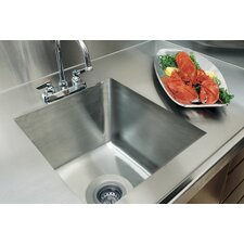 "20"" x 16"" Integral Single Bowl Kitchen Sink"