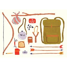 """Outdoor Backpacking"" by Small Adventure Graphic Art on Canvas"